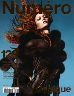 Numéro France 129 December 2011/January 2012 - Karlie Kloss