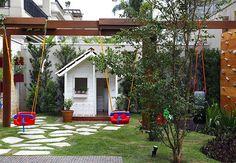 Decorando um quintal para criança