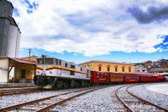 Train to Riobamba. Ecuador