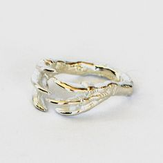 Dino Claw Ring Silver