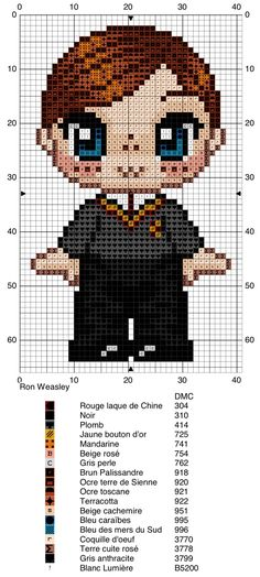 Ron Weasley - Harry Potter pattern