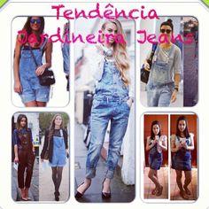 Bom dia meninas!!! Como passaram de final de semana? Espero que bem!  E para começar bem a semana vamos com dica de tendência para 2014?  Tendência Jardineira Jeans! Dicas, inspirações incríveis la no blog: http://blogmarinaandrade.com/2014/01/13/tendencia-jardineira-jeans-4/ #tendência #jardineirajeans #blogmarinaandrade