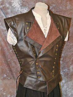 Men's Jerkin--wish people still wore these.