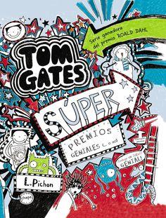 """I-N-HU PIC tom(6) / verde. A serie"""" TOM GATES"""" ten sido galardoada co premio Roald Dahl 2011 ao libro máis divertido e co Rede House Children' s Book Award 2012. """""""