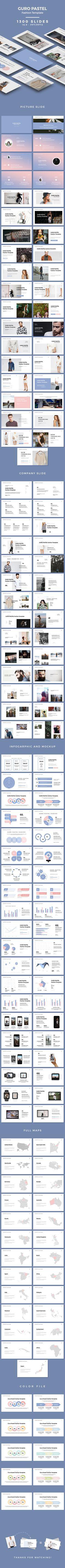 GURO Pastel - Fashion Template (PowerPoint Templates)