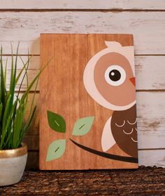 Your place to buy and sell all things handmade Easy Paintings, Animal Paintings, Woodland Forest, Nursery Signs, Woodland Nursery Decor, Diy Canvas Art, Woodland Creatures, Forest Animals, Baby Decor
