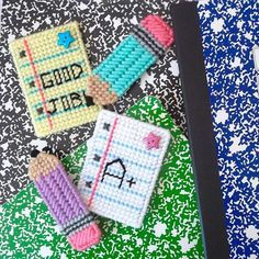 ✎ Write on! Be ready to fight that writers block with cute and colorful back to school magnets for your locker, fridge or magnetic white board. Display those best efforts, perfect scores and artists masterpieces with flair!✎ This listing is for 4 back to