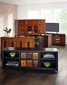 Sedona Wall With 63 Console Art Van Furniture Home Is Where The
