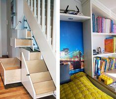 Interiørarkitekt Kaja Hanevold kan kunsten å skjule rot i rom med skreddersydde hyller og skap. Se hennes smarte løsninger!