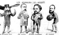 Ilustración satírica del periódico argentino 'El Mosquito'