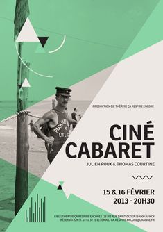 Ciné-Cabaret by Collectif Shebam on Behance