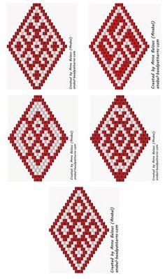 Free beadwork patterns
