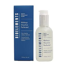 Bioelements Makeup Dissolver Perfected  OilFree NonStinging Makeup Remover Salon Product 118ml by Bioelements -- Check out the image by visiting the link. (Note:Amazon affiliate link)