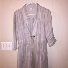 Linen Jacket Gorgeous linen jacket SoftSurroundings Jackets & Coats