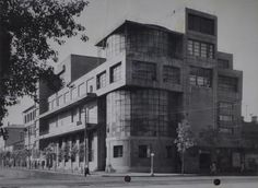 Клуб союза коммунальников имени С.М. Зуева. Архитектор Голосов И.А. Фото 1929 года