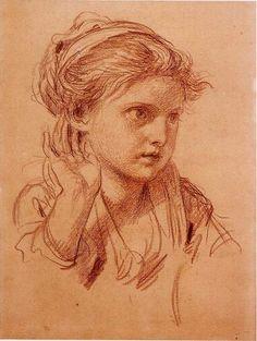 Sanguine par Jean-Baptiste Greuze