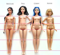 Easy Basics Jeans & T-Shirt Doll Clothes pattern for Curvy Barbie Fashion Doll
