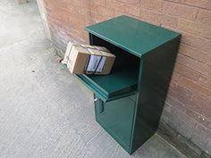 The Home Parcel Accepting Vault A Secure Drop Box That