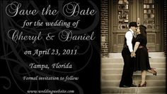 #Vintage swirl save the date #magnet #wedding