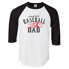 Baseball Dad Mom Shirts Sport Shirts Mens by PrintasticApparel