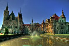 Moszna Castle: One of The Most Beautiful Castles in The World - Moszna Castle is one of the most beautiful castles in Poland and it's near Moszna – the town with the