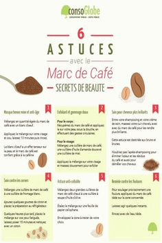 Voici toutes les utilisations possibles et marc de café malin, comme inse . Beauty Tips For Skin, Skin Care Tips, Natural Beauty, Beauty Care, Diy Beauty, Beauty Makeup, Beauty Routine 20s, Cleopatra Beauty Secrets, Beauty Hacks For Teens
