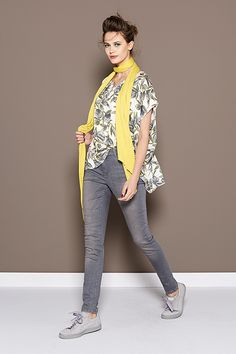 Floral Giallo | Fashion | Lookbook | Yellow | Leaves | Summer collection