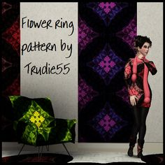 My Sims 3 Blog: Flower Ring Pattern by Trudie55