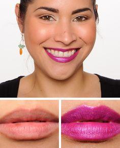 Milani Violet Volt Color Statement Lipstick Review, Photos, Swatches - Temptalia Beauty Blog: Makeup Reviews, Beauty Tips