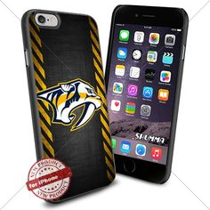 "NHL Nashville Predators iPhone 6 4.7"" Case Cover Protector for iPhone 6 TPU Rubber Case Black SHUMMA http://www.amazon.com/dp/B013M8YZGQ/ref=cm_sw_r_pi_dp_9RH2vb0QR2HR5"