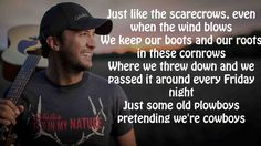 Luke Bryan ~ Scarecrows