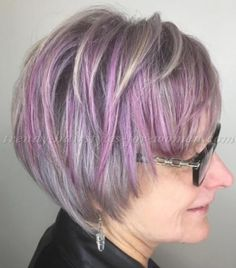 short+hairstyles+over+50+-+short+hairstyle+with+grey+lilac+haircolor