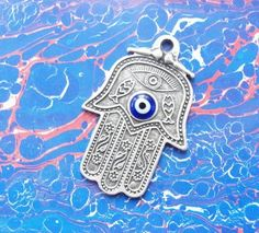 Items similar to Fatima's Hand, hamsa, talisman Pendant on Etsy Hand Of Fatima, Hamsa, My Love, Pendant, Unique Jewelry, Handmade Gifts, Fun, Etsy, Google