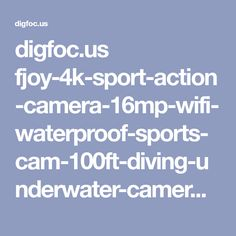 digfoc.us fjoy-4k-sport-action-camera-16mp-wifi-waterproof-sports-cam-100ft-diving-underwater-camera-with-170-degree-wide-angle-rechargeable-battery-waterproof-case18-accessories-kits-for-swimming-skiing-div