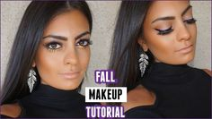 FALL MAKEUP TUTORIAL ♡ Purple Winged Liner + Pop of Gold
