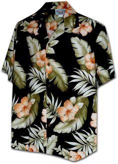 Citrus Hibiscus Black Pacific Legend Hawaiian Aloha by PineDays