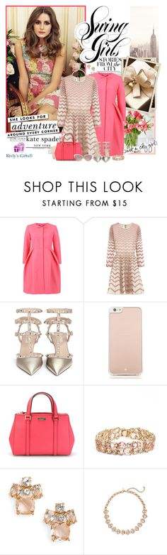 """Kate Spade - Stories from the city"" by violetta-valery ❤ liked on Polyvore featuring KAROLINA, COVERGIRL, Orla Kiely, Valentino, Kate Spade, women's clothing, women's fashion, women, female and woman"