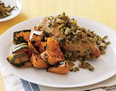 Roasted Kabocha Squash with Cumin Salt from Epicurious.com #myplate #vegetables