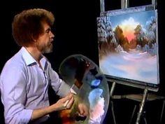 Bob Ross - Red Sunset (Season 9 Episode 3) - YouTube