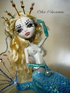 Lagoona Mermaid OOAK doll.