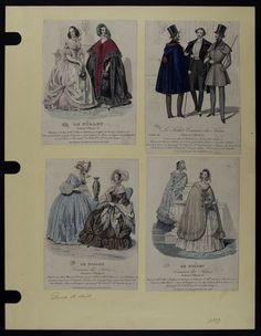 Mode. [XIXe siècle]. 1839 Cape