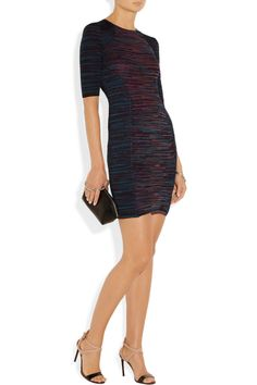 M Missoni|Stretch-knit sheath dress|NET-A-PORTER.COM