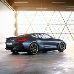The embodiement of modern luxury.  The #BMW Concept #8series.