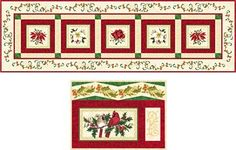 Christmas Traditions Table Runner & Placemats Kit
