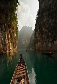 Canyon lake , Thailand.