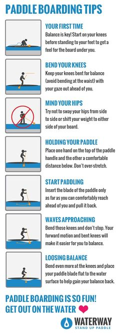 Paddle Boarding Tips. Learn to paddle board! Love, Like, Pin!