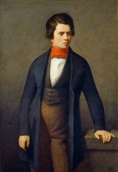 Jean-François Millet - Leconte de Lisle, circa 1840/1841