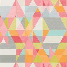 """Geometrisk mönster i färgglada nyanser""""Axis"""""""