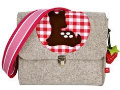 Kindergartentaschen sind nicht nur schön, sondern auch praktisch.    Wie alle unsere Kindertaschen zeichnet sich auch diese dadurch aus, dass sie zwar