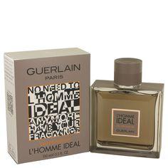 Guerlain L'homme Ideal Eau de Parfum Spray 3.3 - 3.4 oz 100 ml for Men NIB #Guerlain